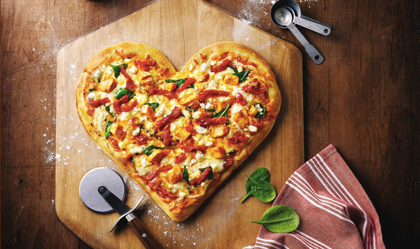 Boston Heart Pizza
